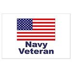 Navy Veteran Large Poster