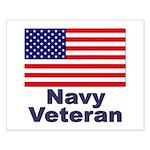 Navy Veteran Small Poster