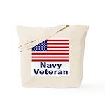 Navy Veteran Tote Bag
