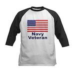 Navy Veteran Kids Baseball Jersey