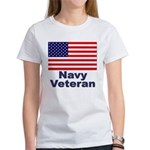 Navy Veteran Women's T-Shirt