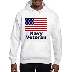 Navy Veteran (Front) Hoodie