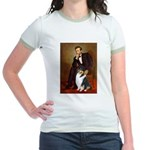 Lincoln / Collie (tri) Jr. Ringer T-Shirt