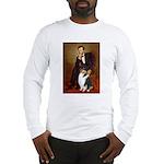 Lincoln / Collie (tri) Long Sleeve T-Shirt