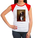 Lincoln / Collie (tri) Women's Cap Sleeve T-Shirt
