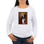 Lincoln / Collie (tri) Women's Long Sleeve T-Shirt