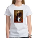 Lincoln / Collie (tri) Women's T-Shirt
