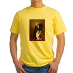 Lincoln / Collie (tri) Yellow T-Shirt