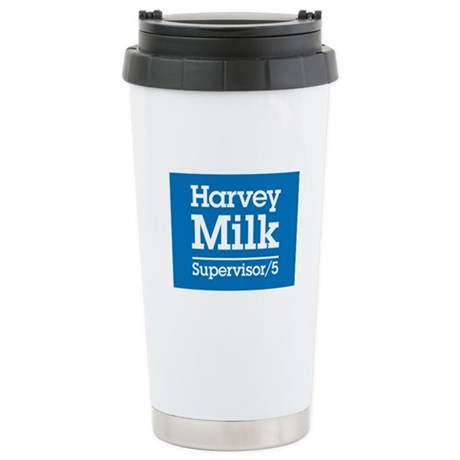 Milk for Supervisor Stainless Steel Travel Mug