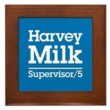 Milk for Supervisor Framed Tile