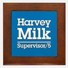 Milk for Supervisor Framed Tile