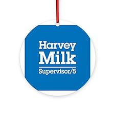 Milk for Supervisor Ornament (Round)
