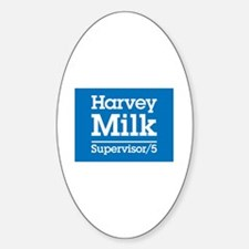 Milk for Supervisor Oval Decal