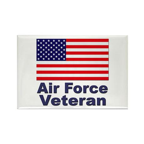 Air Force Veteran Rectangle Magnet