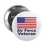 Air Force Veteran Button