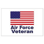 Air Force Veteran Large Poster