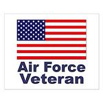 Air Force Veteran Small Poster