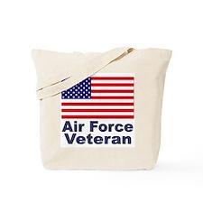 Air Force Veteran Tote Bag