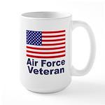 Air Force Veteran Large Mug