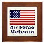 Air Force Veteran Framed Tile