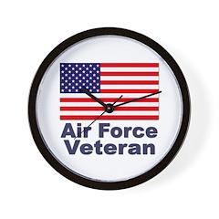 Air Force Veteran Wall Clock