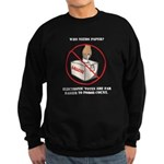 Ballot Voting Sarcastic Sweatshirt (dark)