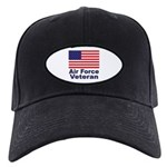 Air Force Veteran Black Cap