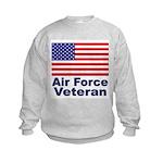 Air Force Veteran Kids Sweatshirt