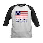 Air Force Veteran Kids Baseball Jersey