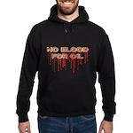 No Blood for Oil Hoodie (dark)