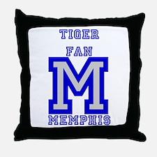 Cute Memphis tigers Throw Pillow
