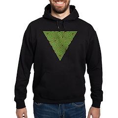 Arboreal Triangle Knot Hoodie (dark)