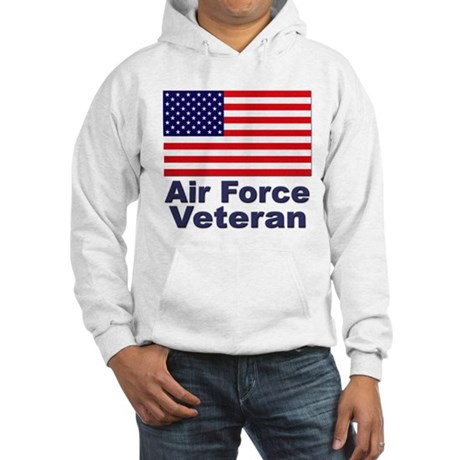 Air Force Veteran (Front) Hooded Sweatshirt