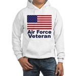 Air Force Veteran (Front) Hooded Sweatshirt