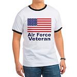 Air Force Veteran (Front) Ringer T