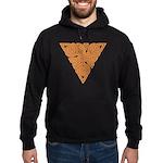 Rustic Triangle Knot Hoodie (dark)