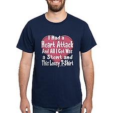 HeartAttackTeeDrk T-Shirt