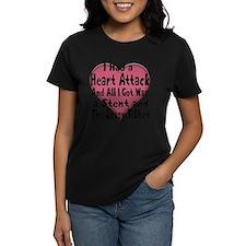 Cute Heart attack Tee
