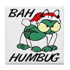 Christmas Bah Humbug Tile Coaster