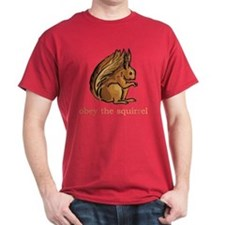 Obey The Squirrel T-Shirt