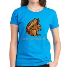 Obey The Squirrel Tee