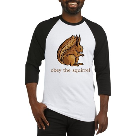 Obey The Squirrel Baseball Jersey