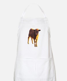 red angus BBQ Apron