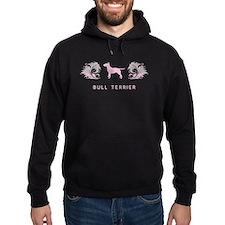 """""""Elegant"""" Bull Terrier Hoodie"""