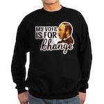 Vote Change Sweatshirt (dark)
