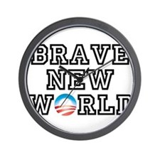 Brave New World Wall Clock