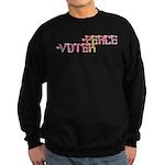 Peace Voter Sweatshirt (dark)