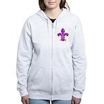 FLEUR DE LI Women's Zip Hoodie