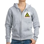 NUCLEAR HAZARD Women's Zip Hoodie