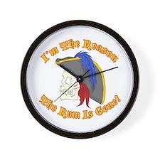 Unique Pirates of the caribbean Wall Clock